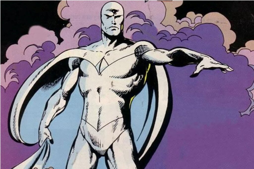 Vision Has an All White Costume
