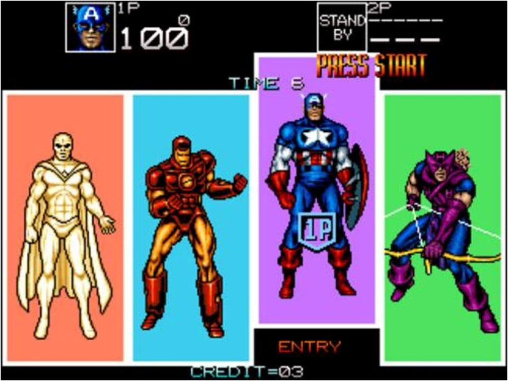 The First Video Game Appearance of the Vision