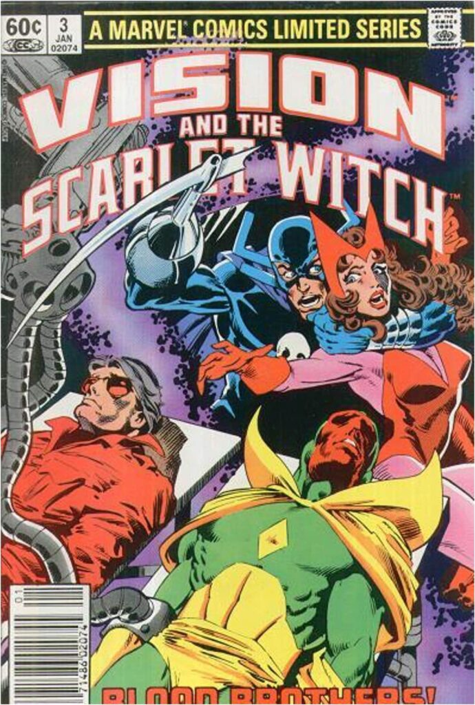 The Vision and Scarlet Witch Had a Limited Series