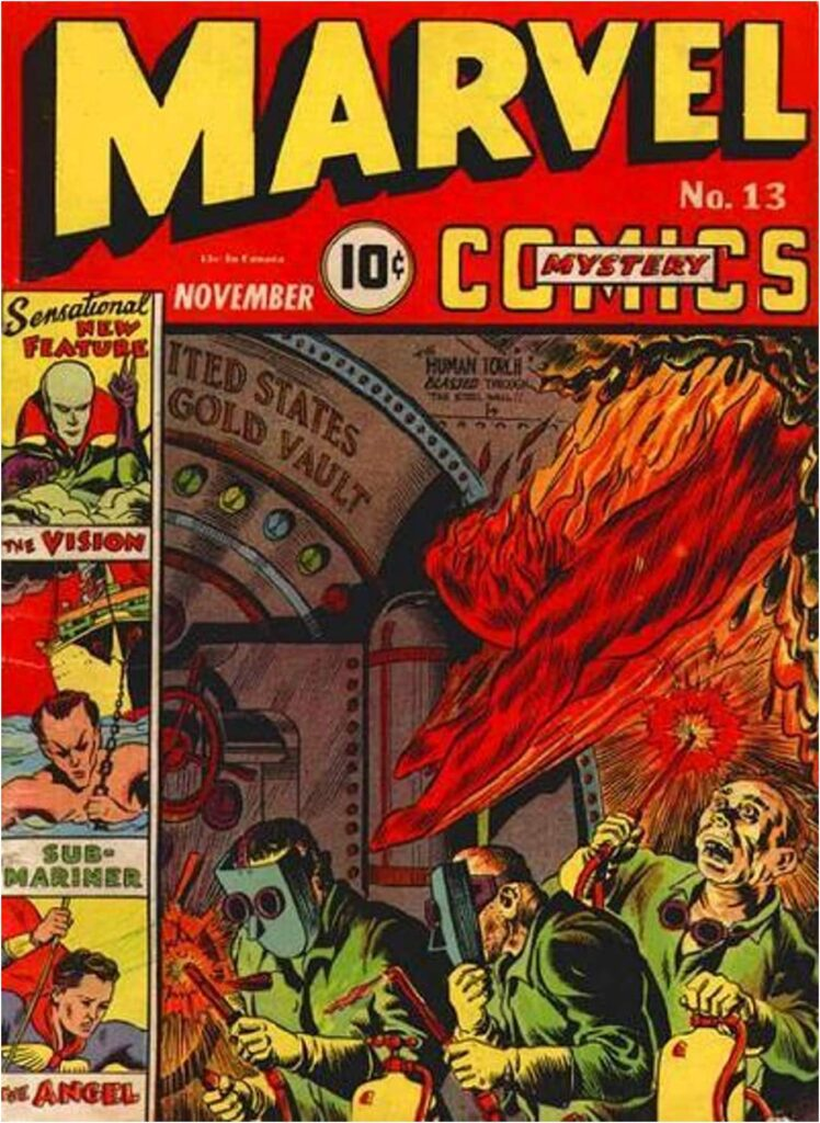 The First Vision Was Created by Joe Simon and Jack Kirby