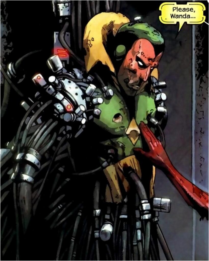 Marvel Zombies Vision Has it Rough
