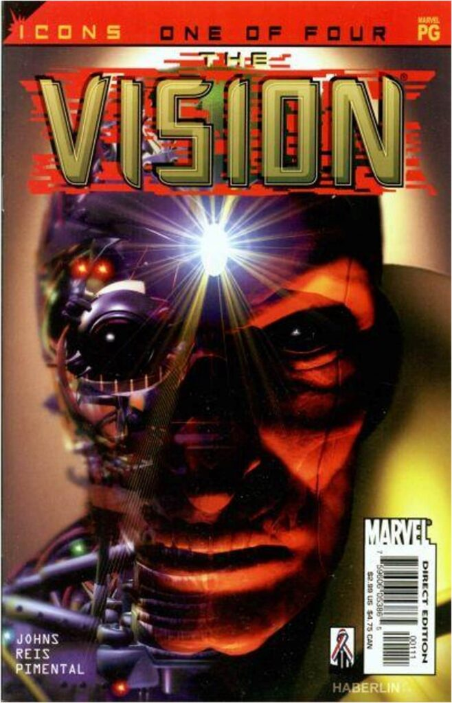 Geoff Johns Wrote Vision #1-4