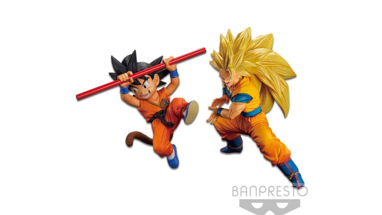 Figuras Goku FES de Dragon Ball