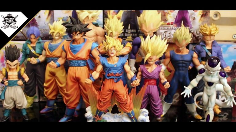 Figuras Master Stars Piece de Dragon Ball