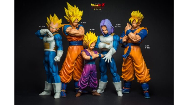Figuras Resolution of Soldiers de Dragon Ball