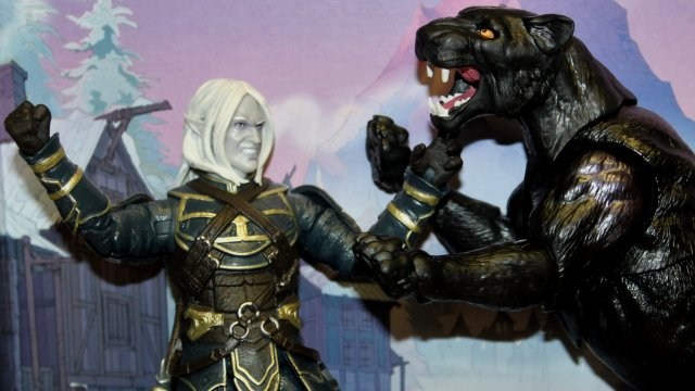 Toy Review: Dungeons & Dragons Forgotten Realms Drizzt y Guenhwyvar