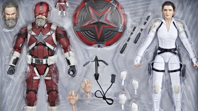Marvel Legends Black Widow Two-Pack y White Vision Materialise